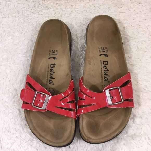 2eff188d873e Birkenstock Shoes - SALE Birkenstock Betula red patent sandals